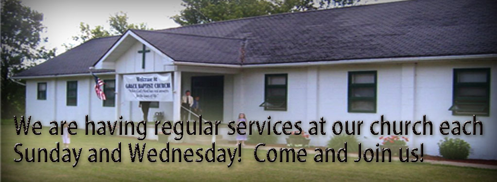 Grace Baptist Church, Eaton Rapids, MI, 2020, Coronavirus Announcement, KJV 1611