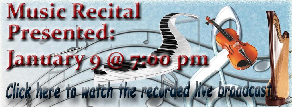 Student Music Recital Winter 2015 - Eaton Rapids, MI Grace Baptist Church
