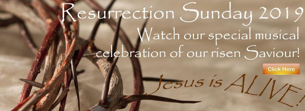 Grace Baptist Church, Eaton Rapids, MI, 2019, Resurrection Sunday Program, KJV