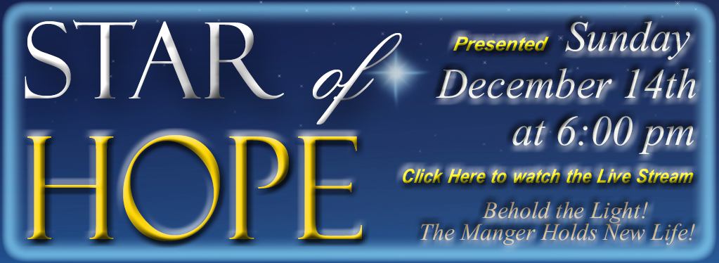 Star Of Hope - Christmas Contata, Dec. 14th 2014